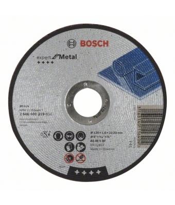 Disc de tăiere 125x1.6 drept Expert for Metal Bosch