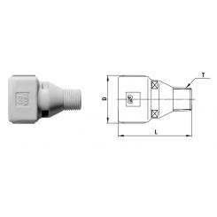 Cube Cupla Rc 1/8 valve - SM TYPE