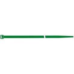 Fasete, culoare verde, 280X4.5mm, 100 buc, Sapi