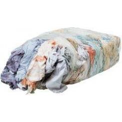 Lavete / Deseuri de carpe de curatat, bumbac 100%, fara scame, sac 15kg, colorate