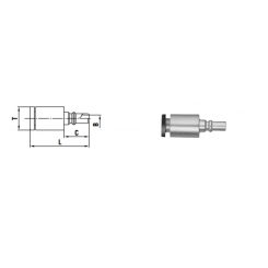 Micro cupla PC TYPE 4 mm - Low Pressure