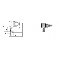 Micro cupla PHL TYPE 4mm - Low Pressure