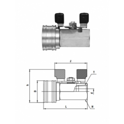 TSP Cupla BV-TSF TYPE R 3/8