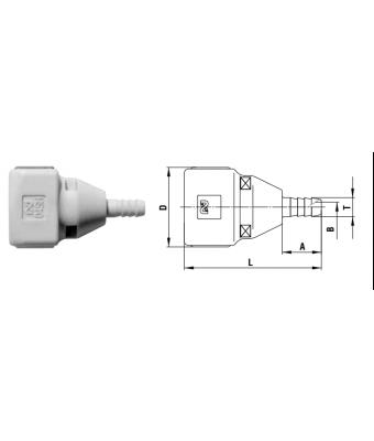 Cube Cupla 6 mm - SH TYPE
